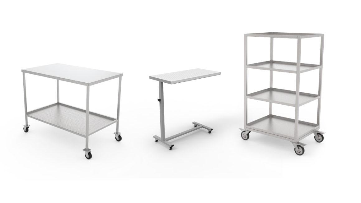 Mesas para hospitales