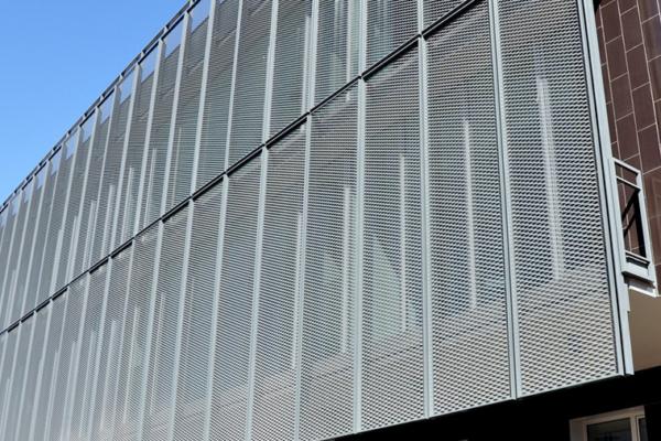 Chapa Perforada y Estructural para Arquitectura y Ornamentación.