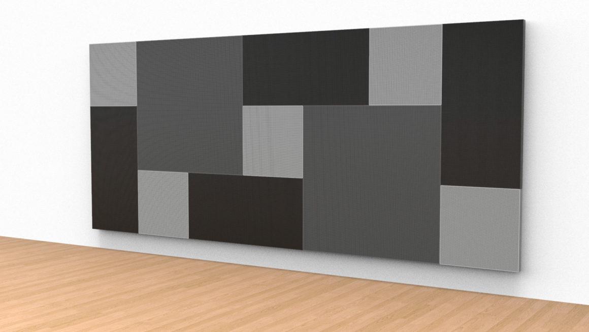El uso de Chapa Perforada en Paneles Acústicos Decorativos.