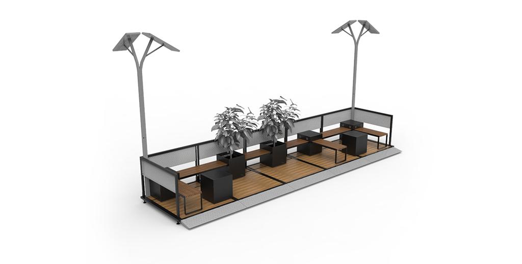 Espacios Urbanos Inteligentes – Mobiliario Urbano